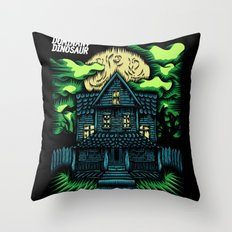 Haunted House Throw Pillow