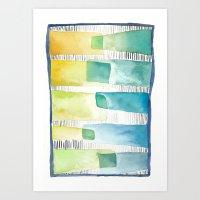 Fresh 'n Funky Quilt Art Print