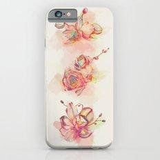 Roses & Orchids iPhone 6 Slim Case