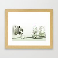 The Passenger: The Meet … Framed Art Print