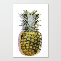 Some People Call Me the Space Pineapple Canvas Print