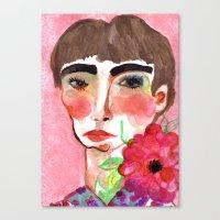 Cameo #6 Canvas Print