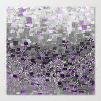 :: Purple-Rain Compote :: Canvas Print