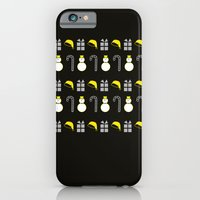 iPhone & iPod Case featuring Christmas Icons II by Paula Pascua