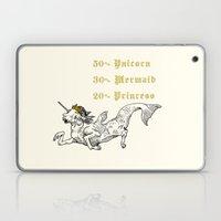 50% Unicorn, 30% Mermaid… Laptop & iPad Skin