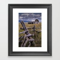 Mormon Row John Moulton … Framed Art Print