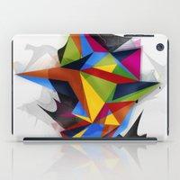 Abstract Geometric Art iPad Case