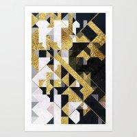 gold lyyfd Art Print