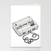 Cassette Stationery Cards