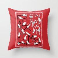 Chaz Tenenbaum's Dalmatian Mice Throw Pillow
