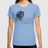 involuntary dilation of the iris Womens Fitted Tee Athletic Blue SMALL