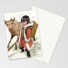 Kid Santa Stationery Cards