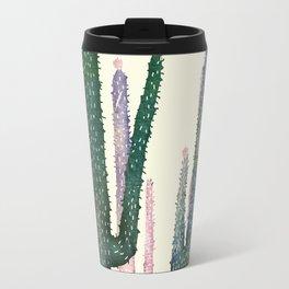 Travel Mug - cactus water color cut - franciscomffonseca