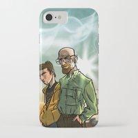 breaking bad iPhone & iPod Cases featuring Breaking Bad by Adrien ADN Noterdaem