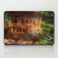 I ♥ You more iPad Case