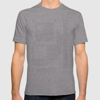 Shape 2 Mens Fitted Tee Athletic Grey SMALL