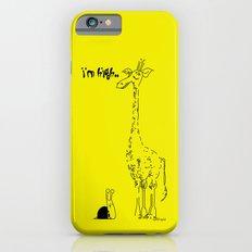 High Giraffe iPhone 6s Slim Case
