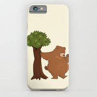 iPhone & iPod Case featuring Bear and Madrono by Alapapaju