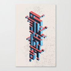Fujixel Canvas Print