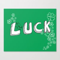 luck. Canvas Print
