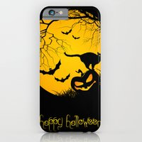 iPhone & iPod Case featuring happy halloween by sissidesign