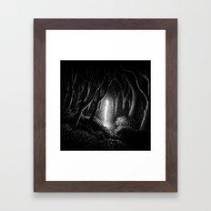 Drawlloween 2013: Alien Framed Art Print