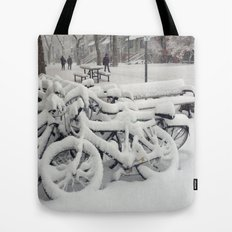 Let's Snow! Tote Bag
