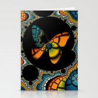 Fractal Cacoon Stationery Cards