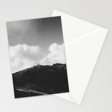 Lone Sheep on a Hill Stationery Cards