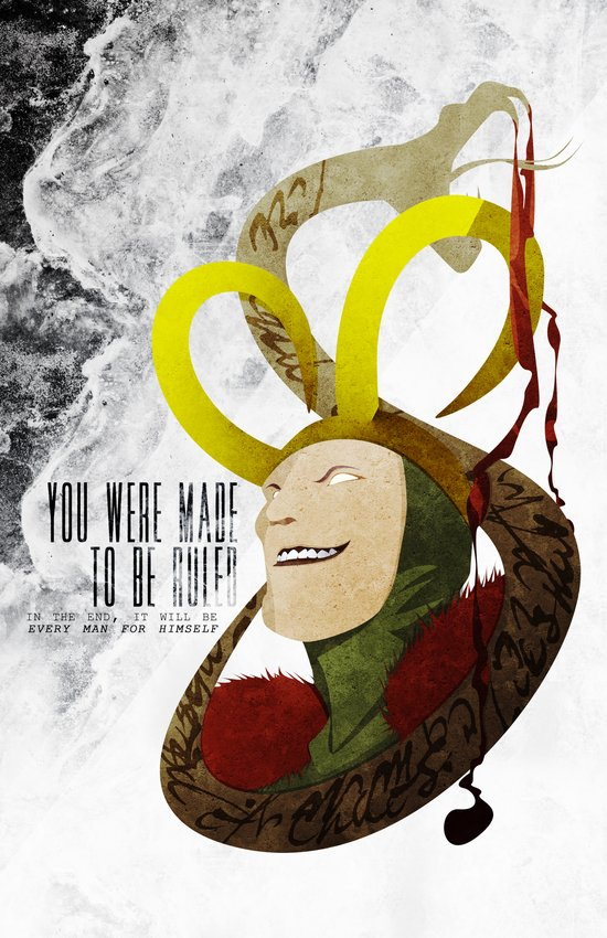 Made to be Ruled : Loki Canvas Print