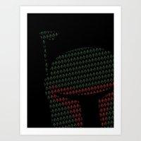 Peek-a-Boba Art Print