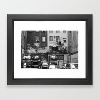 NYC, Yes! Framed Art Print
