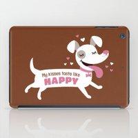 Dog Kisses iPad Case