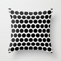 Graphic_Polka Dots  Throw Pillow