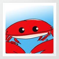 The Crabness Art Print