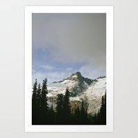 Mountain Snow Art Print