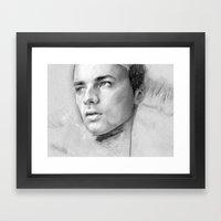 Charcoal Drawing No. 2 Framed Art Print