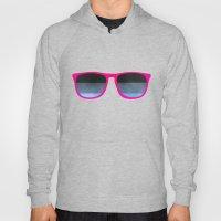 pink shades Hoody