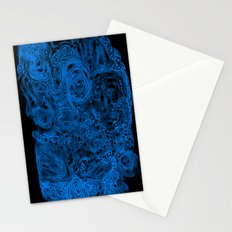 Crazy blue Stationery Cards