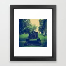 Her Secrets Were Buried With Her Framed Art Print