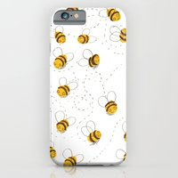 Busy buzzy bees iPhone 6 Slim Case