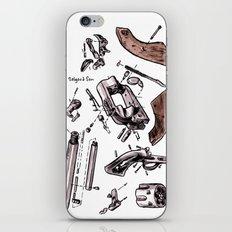 Exploded Gun iPhone & iPod Skin