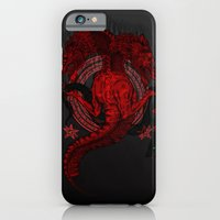 iPhone & iPod Case featuring Incipit Serpent by Polkip