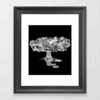 Cr3@te Framed Art Print