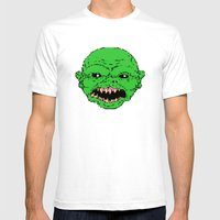 16 Bit Ghoulie Mens Fitted Tee White SMALL