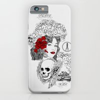 iPhone & iPod Case featuring Peace & War by Seth Beukes