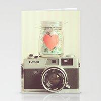 Vintage Camera Love  Stationery Cards