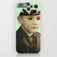 Fur Brains - Hand Painted Vintage Photography iPhone 6 Slim Case