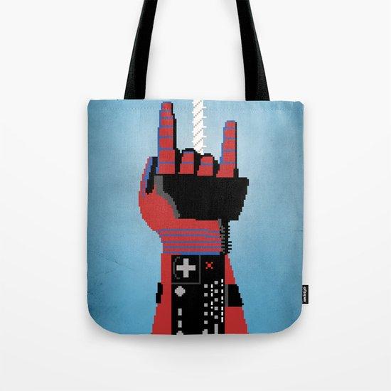 Power Glove Love: Spider-Man Tote Bag