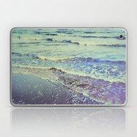 Retro Beach. Summer Wave… Laptop & iPad Skin